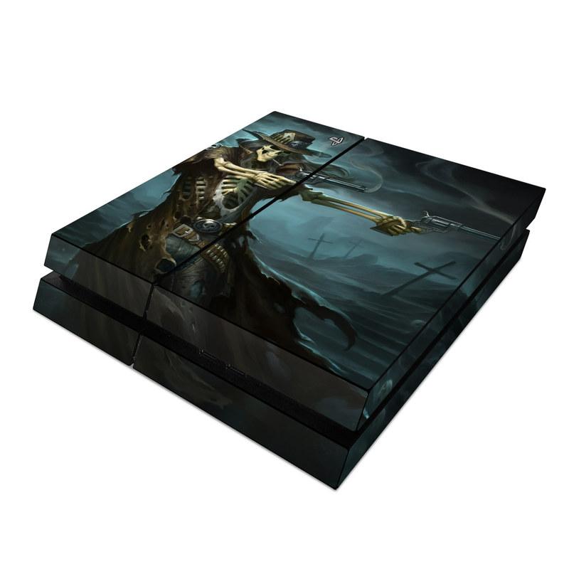 Sony PS4 Skin - Reaper Gunslinger by James Ryman | DecalGirl