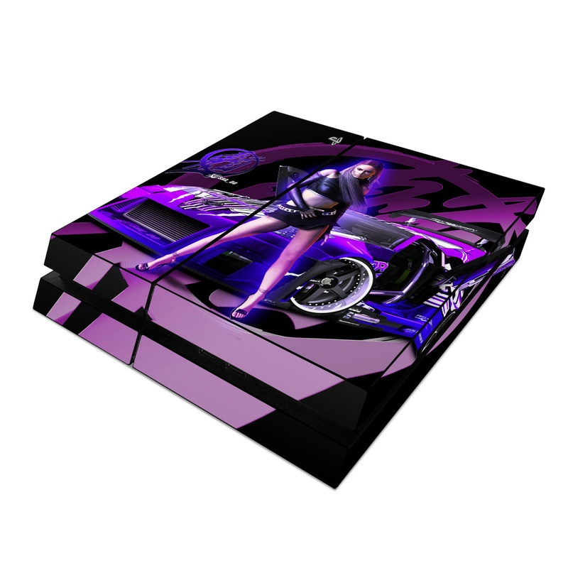 Sony PS4 Skin Z33 Purple By SHADO DecalGirl