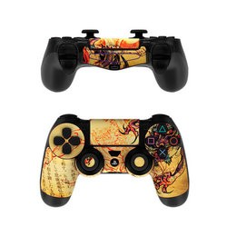Sony PS4 Controller Skin - Dragon Legend