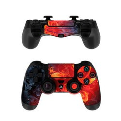 Sony PS4 Controller Skin - Flower Of Fire