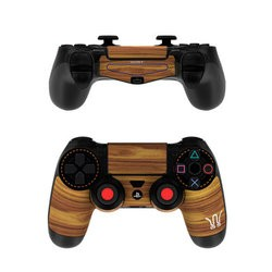 Sony PS4 Controller Skin - Wooden Gaming System