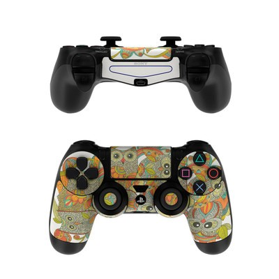Sony PS4 Controller Skin - 4 owls