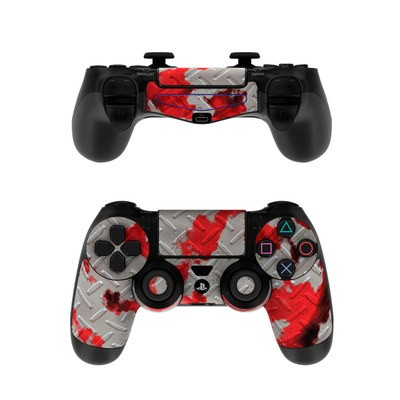 Sony PS4 Controller Skin - Accident