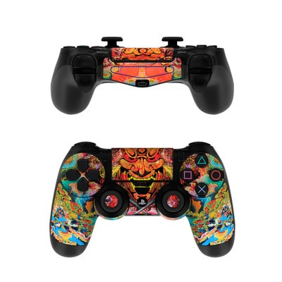 Sony PS4 Controller Skin - Asian Crest