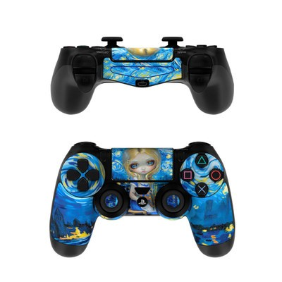 Sony PS4 Controller Skin - Alice in a Van Gogh