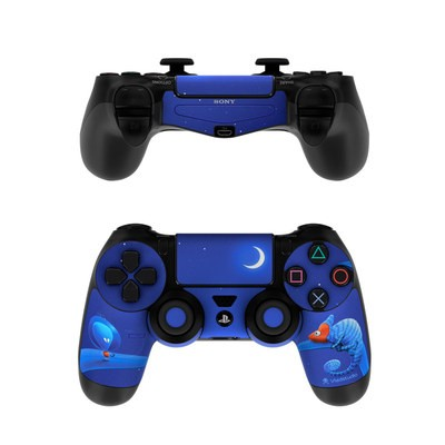 Sony PS4 Controller Skin - Alien and Chameleon