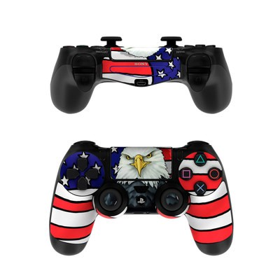 Sony PS4 Controller Skin - American Eagle