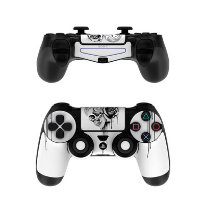 Sony PS4 Controller Skin - Amour Noir