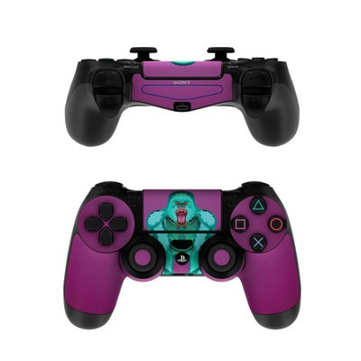 Sony PS4 Controller Skin - Angry Gorilla