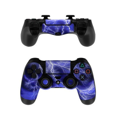 Sony PS4 Controller Skin - Apocalypse Blue