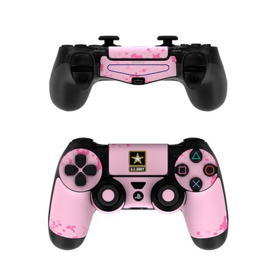Sony PS4 Controller Skin - Army Pink