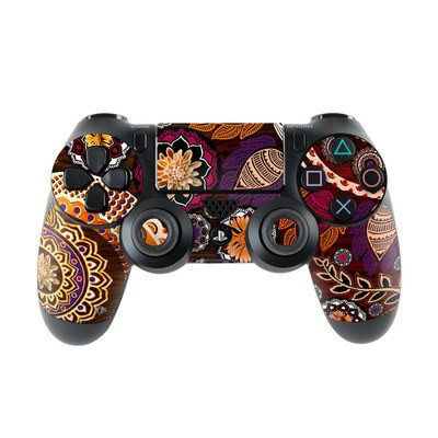 Sony PS4 Controller Skin - Autumn Mehndi
