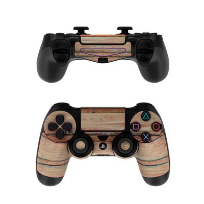 Sony PS4 Controller Skin - Boardwalk Wood