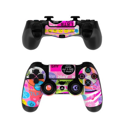 Sony PS4 Controller Skin - BFF Girl Talk