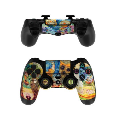 Sony PS4 Controller Skin - Blue Hello