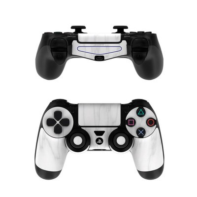 Sony PS4 Controller Skin - Bianco Marble