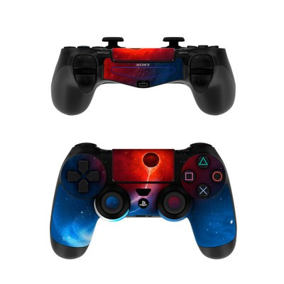 Sony PS4 Controller Skin - Black Hole