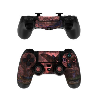Sony PS4 Controller Skin - Black Angel