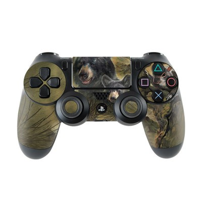 Sony PS4 Controller Skin - Black Bears
