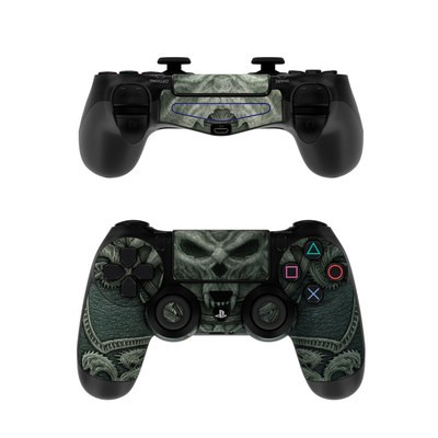 Sony PS4 Controller Skin - Black Book