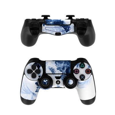 Sony PS4 Controller Skin - Blue Blooms