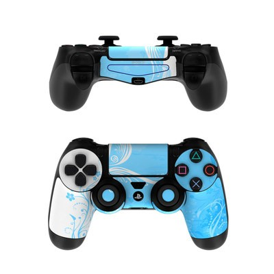 Sony PS4 Controller Skin - Blue Crush