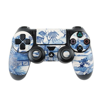 Sony PS4 Controller Skin - Blue Willow