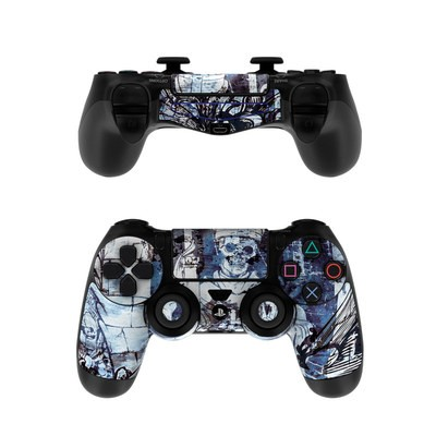 Sony PS4 Controller Skin - Black Mass