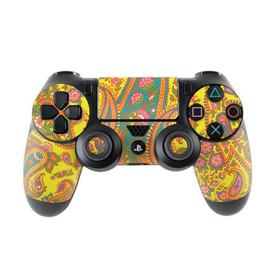 Sony PS4 Controller Skin - Bombay Chartreuse