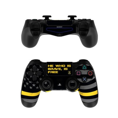 Sony PS4 Controller Skin - Brave is Free