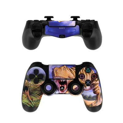 Sony PS4 Controller Skin - Brown Rex