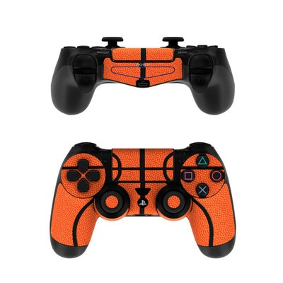 Sony PS4 Controller Skin - Basketball