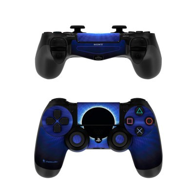 Sony PS4 Controller Skin - Blue Star Eclipse