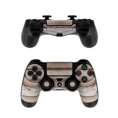 Sony PS4 Controller Skin - Barn Wood