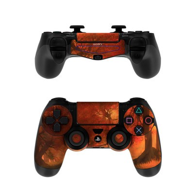 Sony PS4 Controller Skin - Canopy Creek Autumn