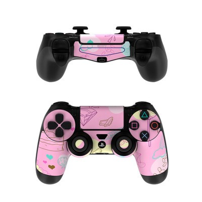 Sony PS4 Controller Skin - Pink Candy