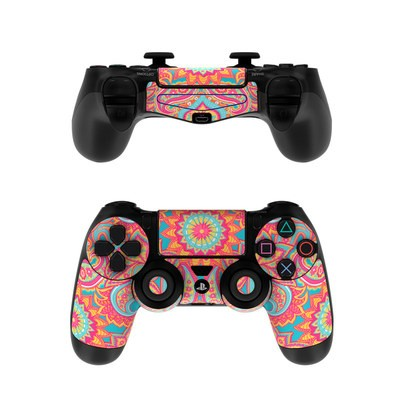 Sony PS4 Controller Skin - Carnival Paisley