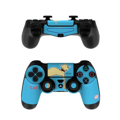 Sony PS4 Controller Skin - Cat
