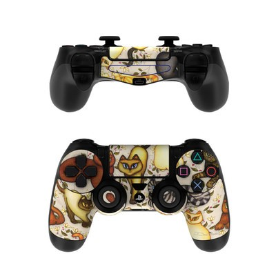 Sony PS4 Controller Skin - Cats