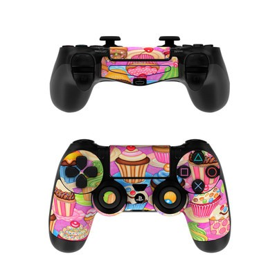 Sony PS4 Controller Skin - Cupcake
