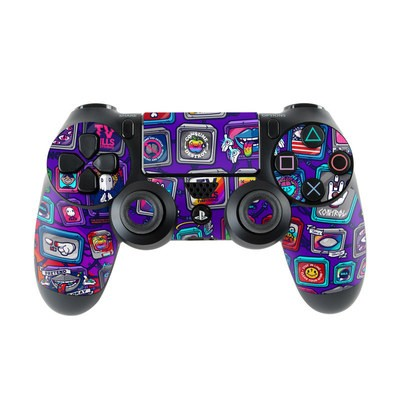 Sony PS4 Controller Skin - Controlled Chaos