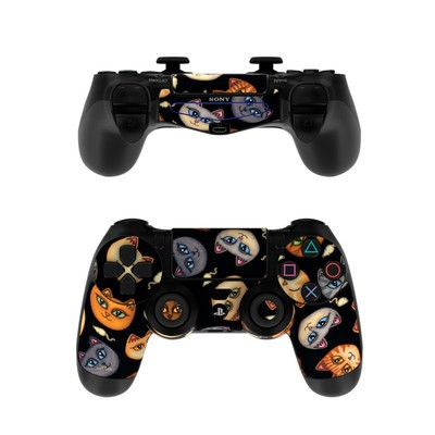 Sony PS4 Controller Skin - Cat Faces