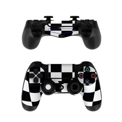 Sony PS4 Controller Skin - Checkers
