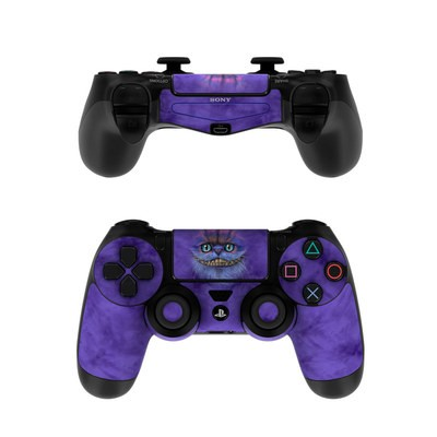 Sony PS4 Controller Skin - Cheshire Grin