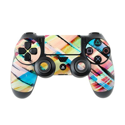 Sony PS4 Controller Skin - Check Stripe