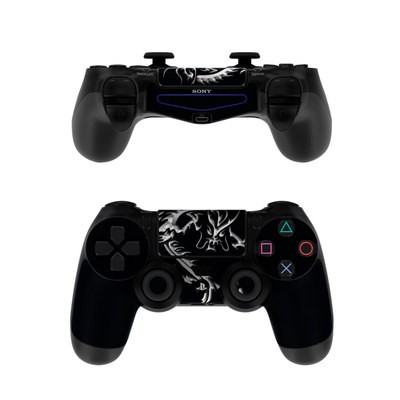Sony PS4 Controller Skin - Chrome Dragon