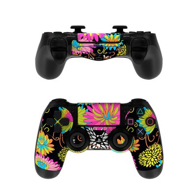 Sony PS4 Controller Skin - Chrysanthemum