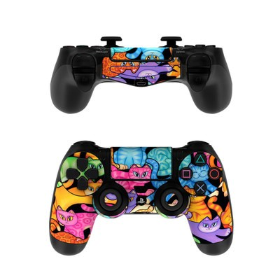 Sony PS4 Controller Skin - Colorful Kittens