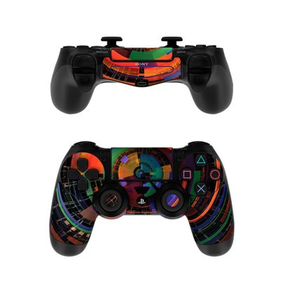Sony PS4 Controller Skin - Color Wheel