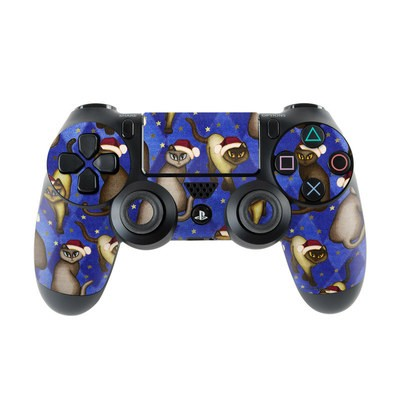 Sony PS4 Controller Skin - Christmas Cats